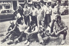 Gonzaguinha, top right, with other members of the Movimento Artístico Universitário