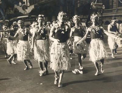 Carnival revelers in Rio de Janeiro, 1939. Image via Arquivo Nacional, Rio de Janeiro.