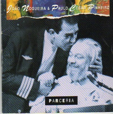 João Nogueira and Paulo César Pinheiro (seated) composed over 50 sambas together. They celebrated their partnership with the release of the album Parcerias in 1994, which features 17 of their top hits.