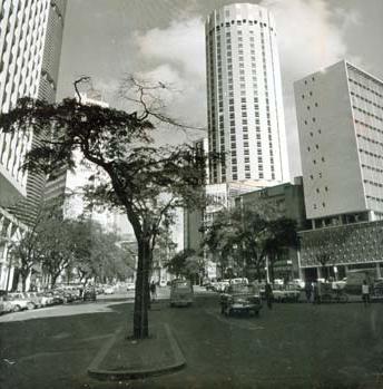 Hilton Hotel in 1972, the year this song was released. Photo via Estado de São Paulo.
