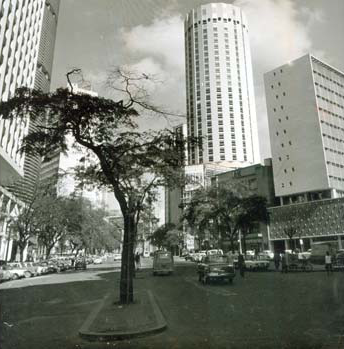 Hilton Hotel in 1972, the year this song was released. Photo via Estado de São Paulo.