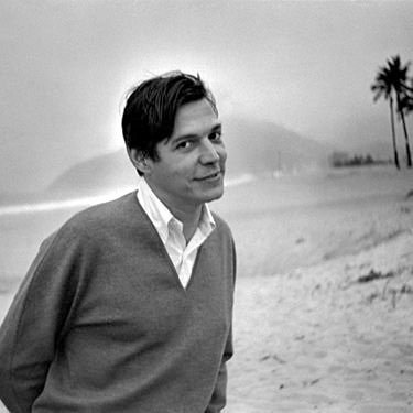 Tom Jobim at Ipanema Beach, c. 1968