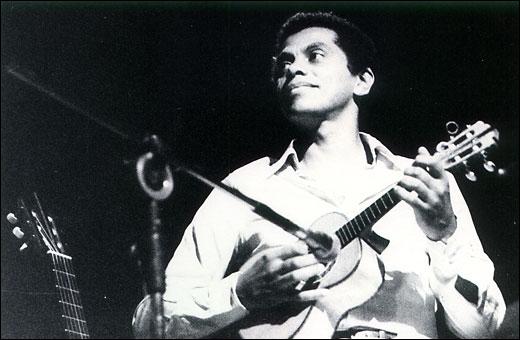 Paulinho da Viola c. 1970. Image via Veja.