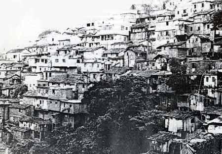 Rocinha favela c. 1950. Image via Favelatemmemoria.com.br.