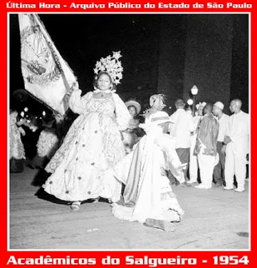 "In 1954, the newly formed Salgueiro samba school surprised the public and its competitors, coming in third place in Rio's Carnival competition with the samba-enredo ""Romaria à Bahia."""