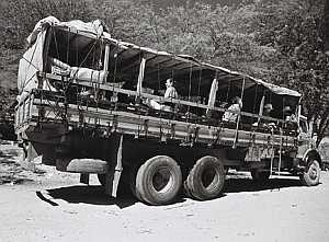 At 13, Dominguinhos moved with his family to Rio de Janeiro on a pau-de-arara truck like this one.