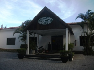 The Tavares Correia Hotel in Garanhuns, Pernambuco, where 8-year-old Dominguinhos played for Luiz Gonzaga for the first time.