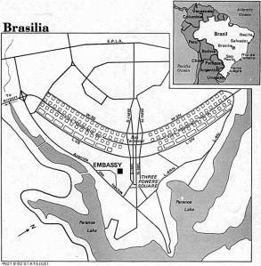 "When Lucio Costa's pilot plan was chosen as the design for Brasilia, it was widely criticized for being a mere sketch, not a true plan. Based on the shape of a cross, it is often described as an ""airplane,"" though Costa said he preferred it be considered a butterfly."