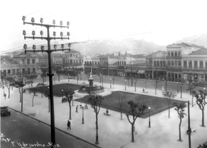 Praça Onze was destroyed to make room for Avenida Presidente Vargas, which was inaugurated in September 1944.