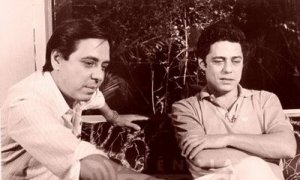 Edu Lobo (L) and Chico Buarque