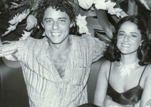 Chico with his wife Marieta in the 1980s. They were married for over thirty years and have three daughters.