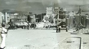 Praça XI destroyed to make way for Av. Presidente Vargas in 1941.