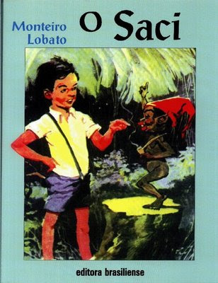 The beloved tale of Pedrinho and the Saci he captured - by Monteiro Lobato.