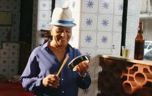 Legendary Portela sambista Monarco, now 81.
