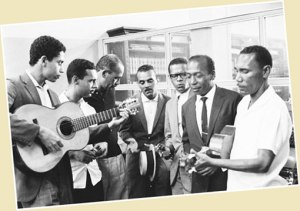 Conjunto Voz do Morro was one of the groups formed at Zicartola, in an effort to give more publicity to the greatest talents in samba do morro.