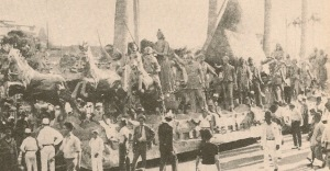Main float, Clube dos Fenianos, Carnaval 1934.