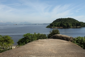 View from Pedra da Moreninha, Paquetá.