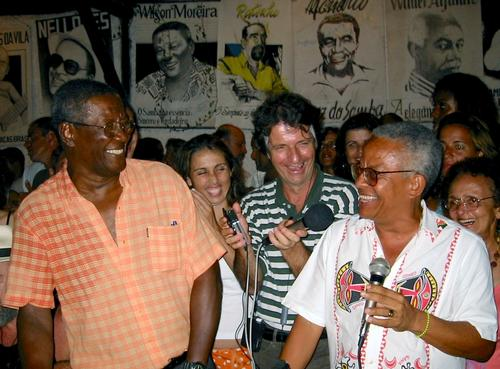 Wilson Moreira and Nei Lopes, whose musical partnership was one of the most important in the history of samba.