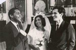 Gil, Ana Duarte and Torquato at Torquato's wedding in 1966.