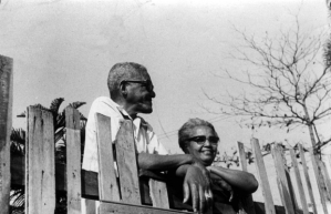 Cartola and his wife Zica in February 1975. Displeased with the direction samba had taken by the early 1960s, the couple opened their short-lived but famous restaurant Zicartola, which was largely responsible for giving new life to samba de morro in the 1960s.