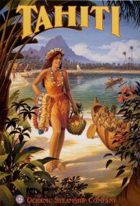 tahiti-girl-ocean