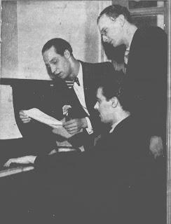 Mario Lago, Orlando Silva, Custodio Mesquita