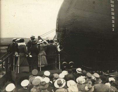 Christening_Minas Gerais_Elswick_10 September 1908_DF.CLR-8-29_The_Launch_of_the_Minas_Geraes.tif