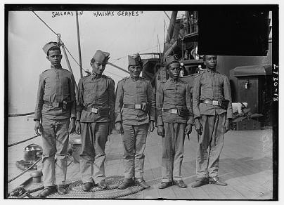Sailors on the Minas Gerais_Btw 1910-1915_via LOC